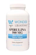Spirulina 500 mg | Blue Green Micro Algae