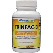 TRINFAC-B Intrinsic Factor Vitamin B12 as Methylcobalamin
