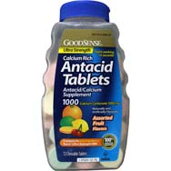 TUMS Comparable Antacid Tablets Assorted Fruit Ultra Strength