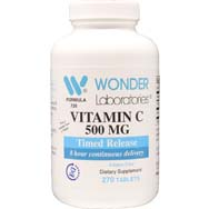Vitamin C 500 mg Timed Release