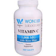 Vitamin C 1,000 mg with Rose Hips