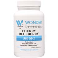 Cherry Blueberry 580 mg | Free Radical Fighting Antioxidants