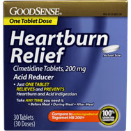 Heartburn Relief - Acid Reducer (3 Boxes of 30)