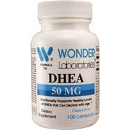 DHEA (dehydroeplandrosterone) 50 mg| Promotes Hormone Production Crucial to Various Bodily Functions