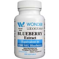 Blueberry Extract | Equivalent to 1500 mg Blueberry
