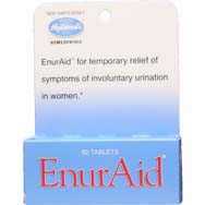 EnurAid | 100% Natural Incontinence Tablets