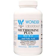 Methionine Plus | B-6 • B-12 • Folic Acid