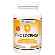 Zinc Lozenges - Fruit Flavored