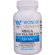 Mega Saw Palmetto 320 mg