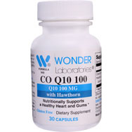 Co-Enzyme Q10 100 mg CO Q10 100 with Hawthorn