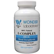 Vitamin E Mixed Tocopherols Natural Vitamin E Complex 400 IU