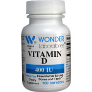 Vitamin D 400 IU | Essential for Strong Bones and Teeth