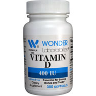 Vitamin D Natural Vitamin D 400 IU Softgels