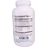 Non-Acidic Buffered Vitamin C | Calcium Ascorbate 1250 mg