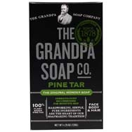 Pine Tar Wonder Soap - Lathers White