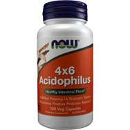 Acidophilus 4X6 Healthy Intestinal Flora