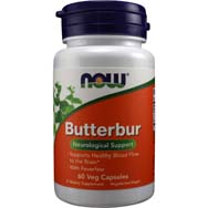 Butterbur 75 mg of 15% Extract with Feverfew Extract