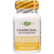 Activated Charcoal - High Absorbency - Internal Cleansing