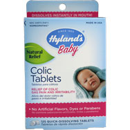 Colic Tablets - Natural Homeopathic Relief