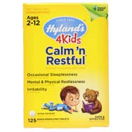 Calms n Restful 4 KIDS Homeopathic Formula