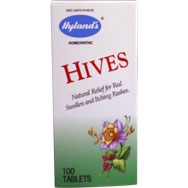 Hives - Natural Relief for Red Swollen and Itching Rashes