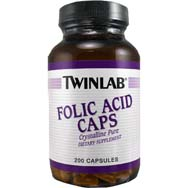 Folic Acid Capsules Crystalline Pure<br>800 Micrograms