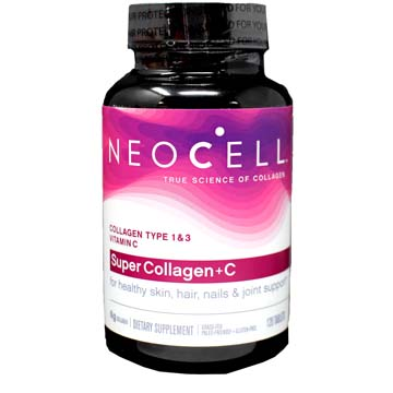 NeoCell's Super Collagen (Type 1 & 3) plus Vitamin C