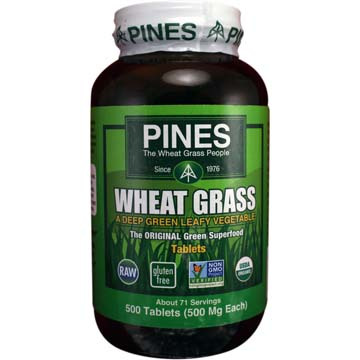 Wheat Grass - A Deep Green Leafy Vegetable