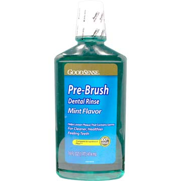 Anti-Plaque Dental Rinse