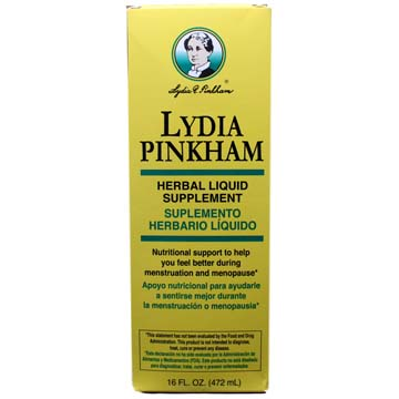 Lydia Pinkham Herbal Liquid Supplement w/ Black Cohosh