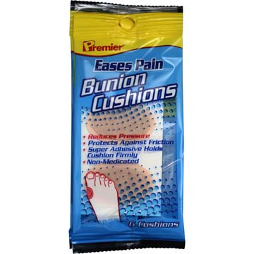 Bunion Cushions - Eases Pain - Reduces Pressure (2 Pack)