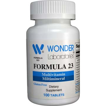 Formula 23 - Multivitamin Multimineral w/Iron