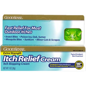 E/S Itch Relief Cream