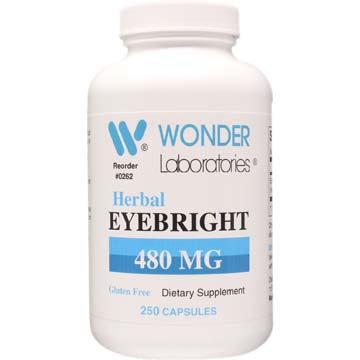 Herbal Eyebright 480 mg