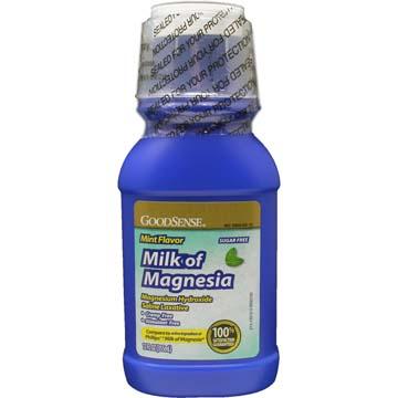 Milk Of Magnesia Mint Laxative