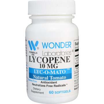 Lycopene 10 mg | LYC-CO-MATO™ - Natural Tomato