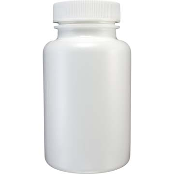 Empty Bottles | HDPE Bottles | White Plastic 3oz Size | 24ct