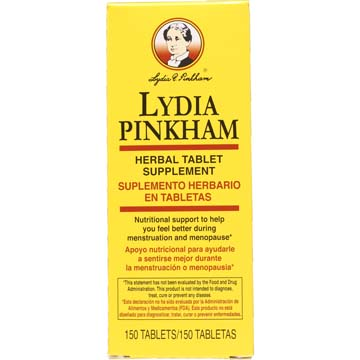 Lydia Pinkham Herbal Tablets