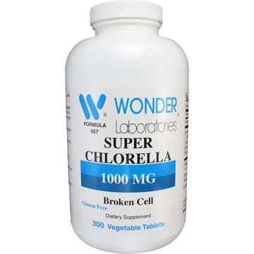 Super Chlorella 1000 mg | Broken Cell