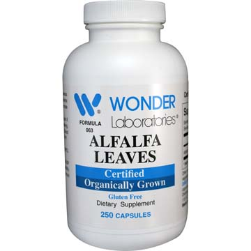 Alfalfa Leaves | Certified Organically Grown