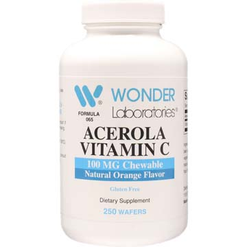Chewable Acerola Vitamin C 100 mg