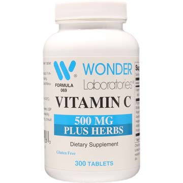 Vitamin C 500 mg Plus Herbs