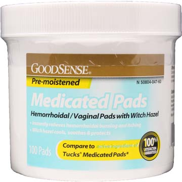 Medi-Pads - Hermorrhoidal Pads with Witch Hazel by Major