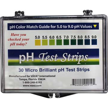 pH Test Strips | 30 Micro Brilliant pH Test Strips