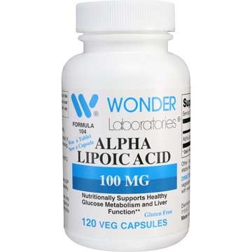 Alpha Lipoic Acid Vegetarian