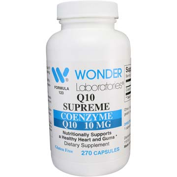 Co-Enzyme Q10 10 mg Q10 Supreme
