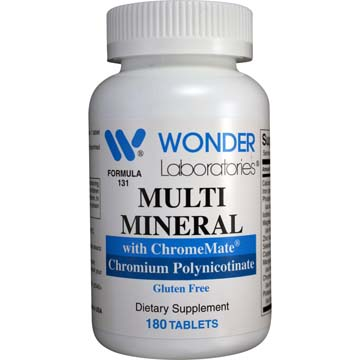 Multi-Mineral with Chromate | Chromium Polynicotinate