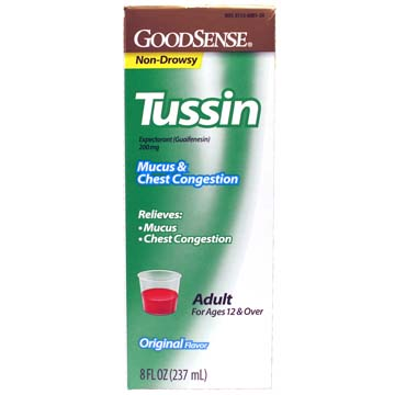 Tussin - Mucus & Chest Congestion | Robitussin&re Comparable