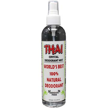 Thai Crystal Deodorant Mist® - 100% Natural