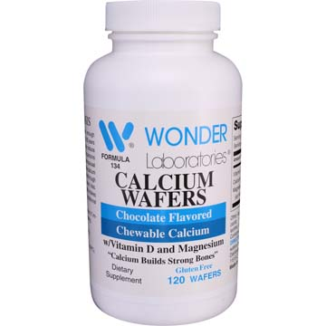 Calcium Wafers | Chocolate Flavored Chewable Calcium